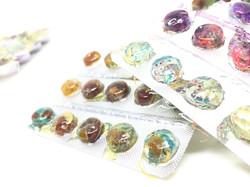 ETSY ring ghost gear gemstones