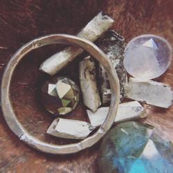Metal & gems