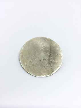 FULL MOON BROOCH Eco-Silver MJHScontempo
