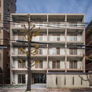 新神戸の集合住宅
