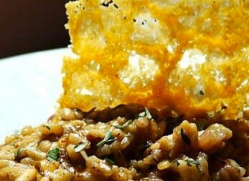 Mushroom Risotto-a taste for all seasons