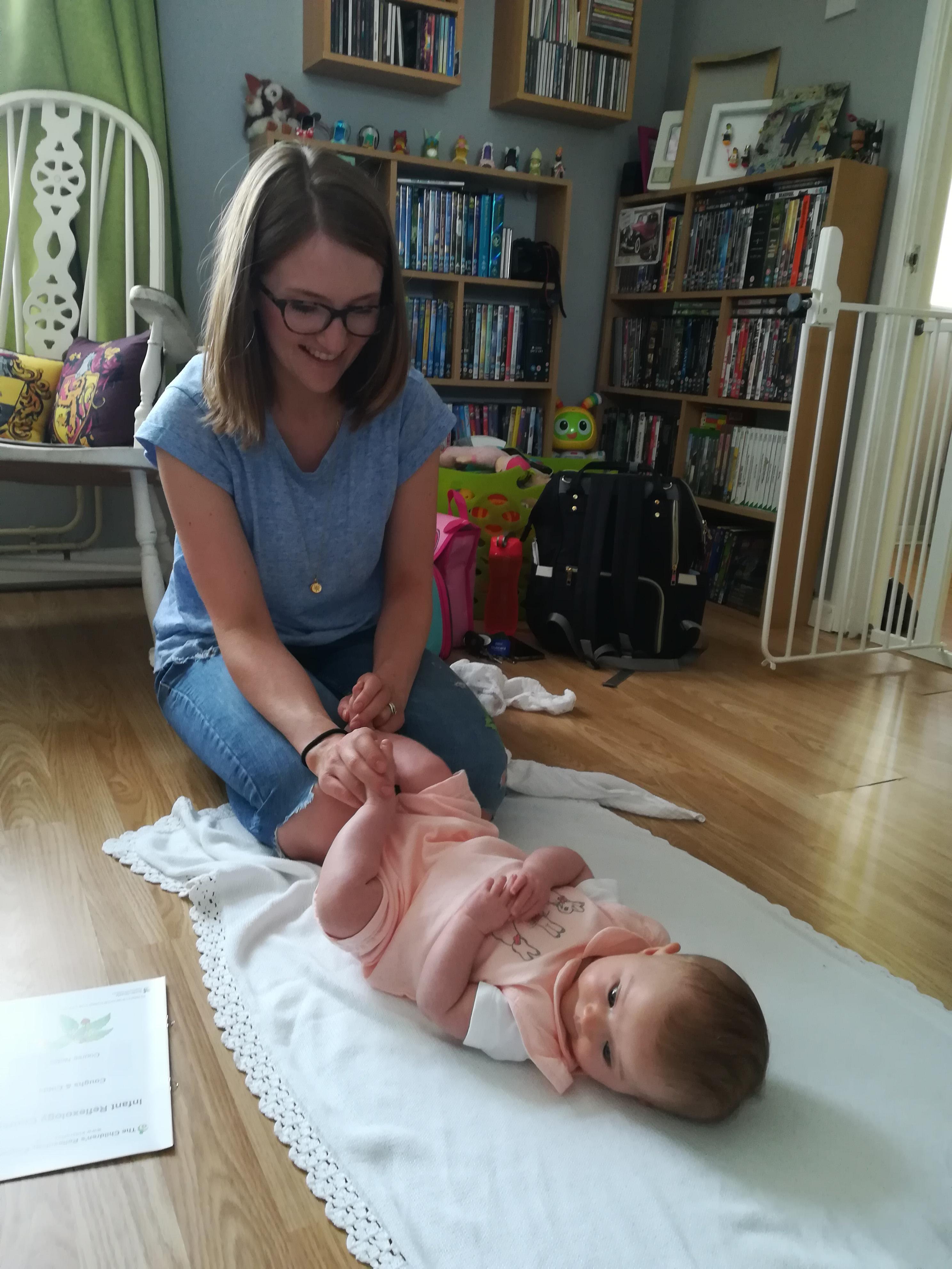 baby reflexology