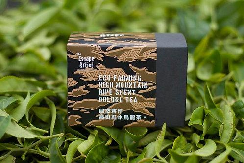 自然耕作紅水高山烏龍茶