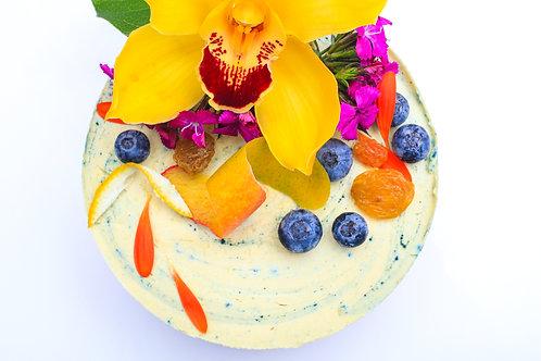 """""""Blue Mango"""" Superfood Cake"""
