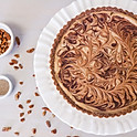 "9"" Chocolate Chai Pie"