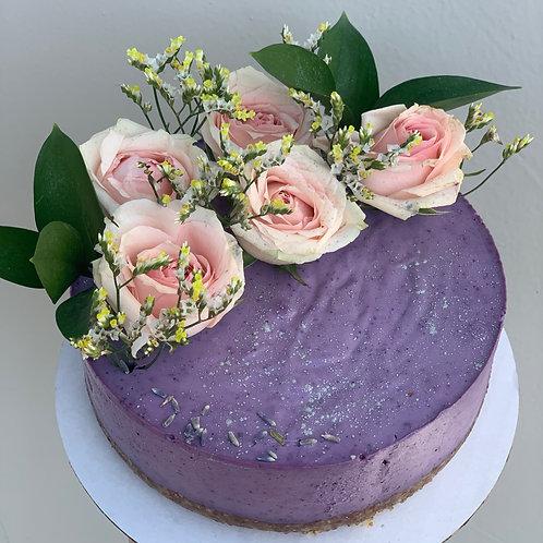 Lemon Blueberry Cheesecake - Raw