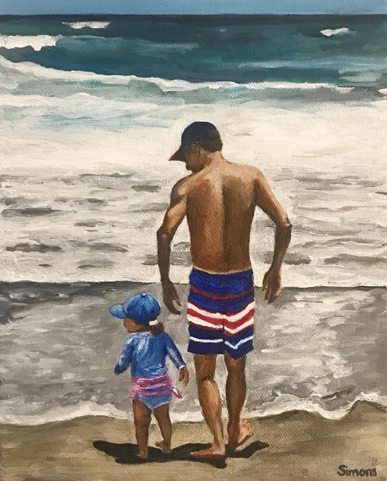 """Beach days with Lillabug"""