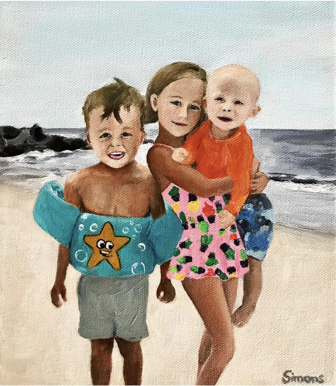 """MacEachern beach day"""