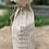 Thumbnail: Custom Engraved Linen Wine bag