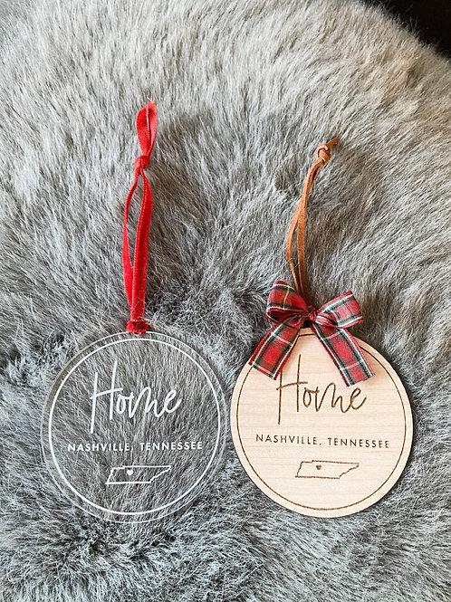 HOME Ornament