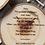 Thumbnail: Custom wood slice engraved coasters - set of 4