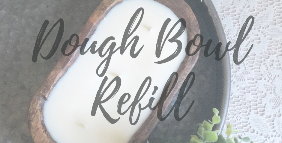 3 Wick Dough Bowl Candle Refill