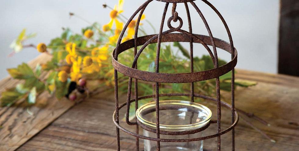 Bird Cage Votive Holder