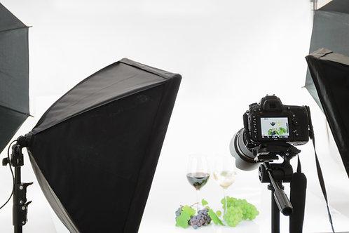 Produktové focení 100 kusů fotografií