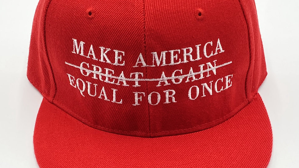"""""""Equal for Once"""" Snapback"""