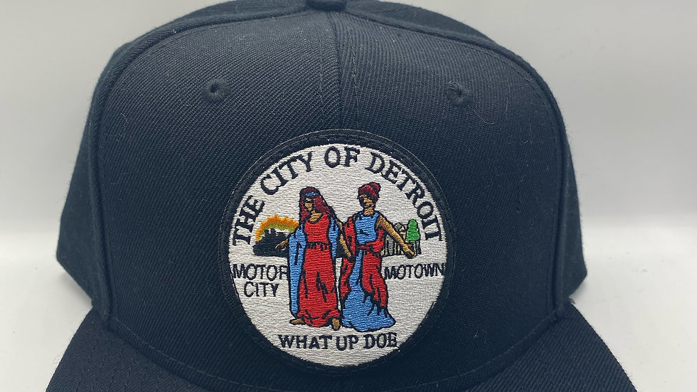 "Detroit ""What Up Doe"" Snapback"