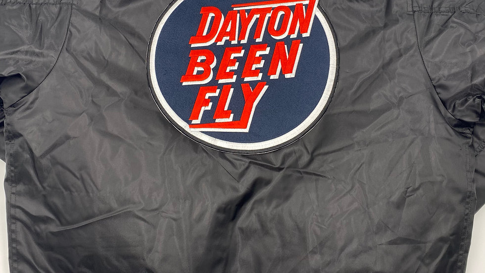 """Unisex """"Dayton Been Fly"""" Bomber Jacket"""
