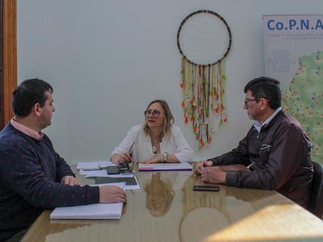 Reunión con el COPNAF