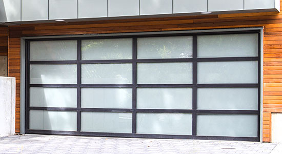 Aluminum-Full-View Garage Doors