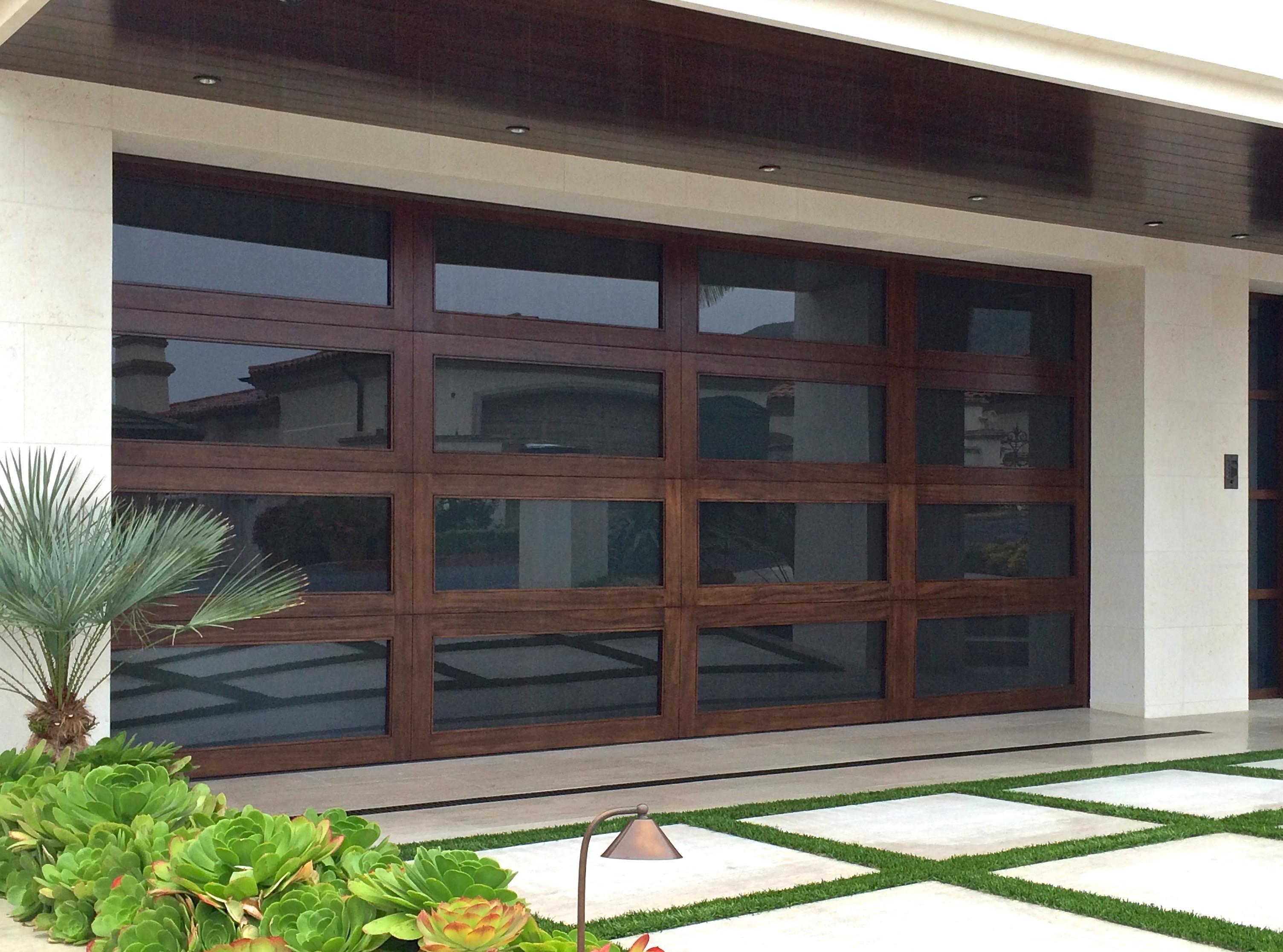Custom/Wood Door Spring Change
