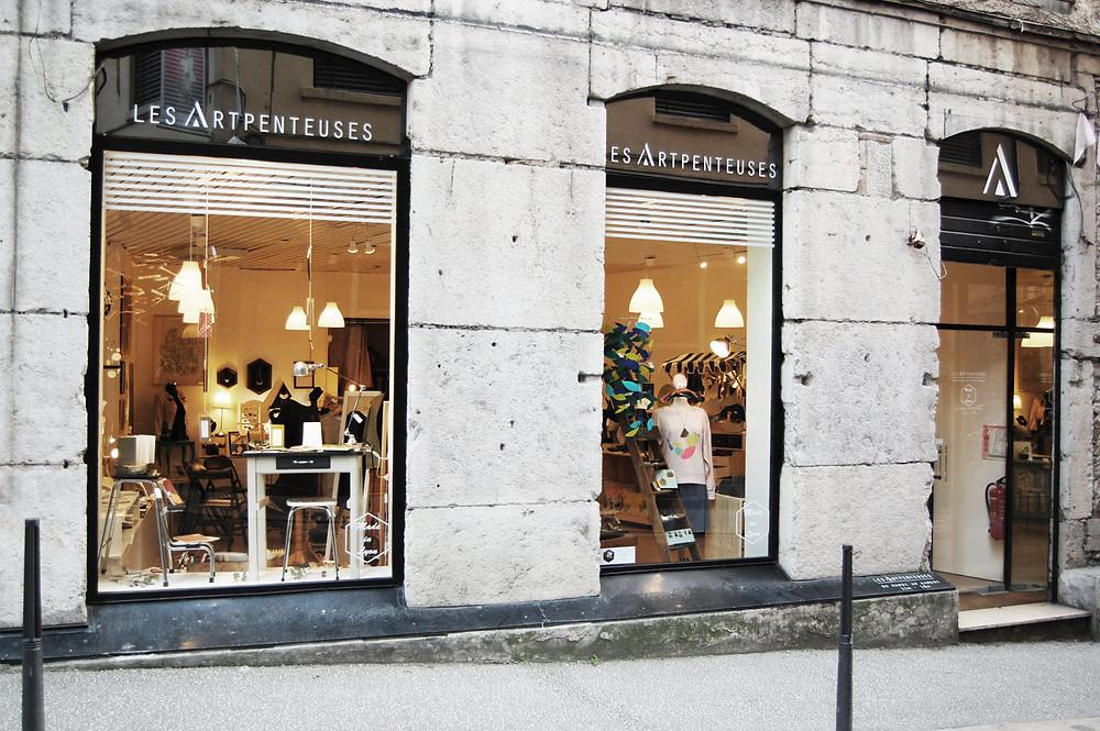 boutique collectif créateurs Lyon
