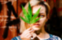 Blonde girl with leaf.jpeg