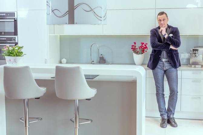 Sesja zdjęciowa z Tomaszem Hajto dla firmy Marecki.