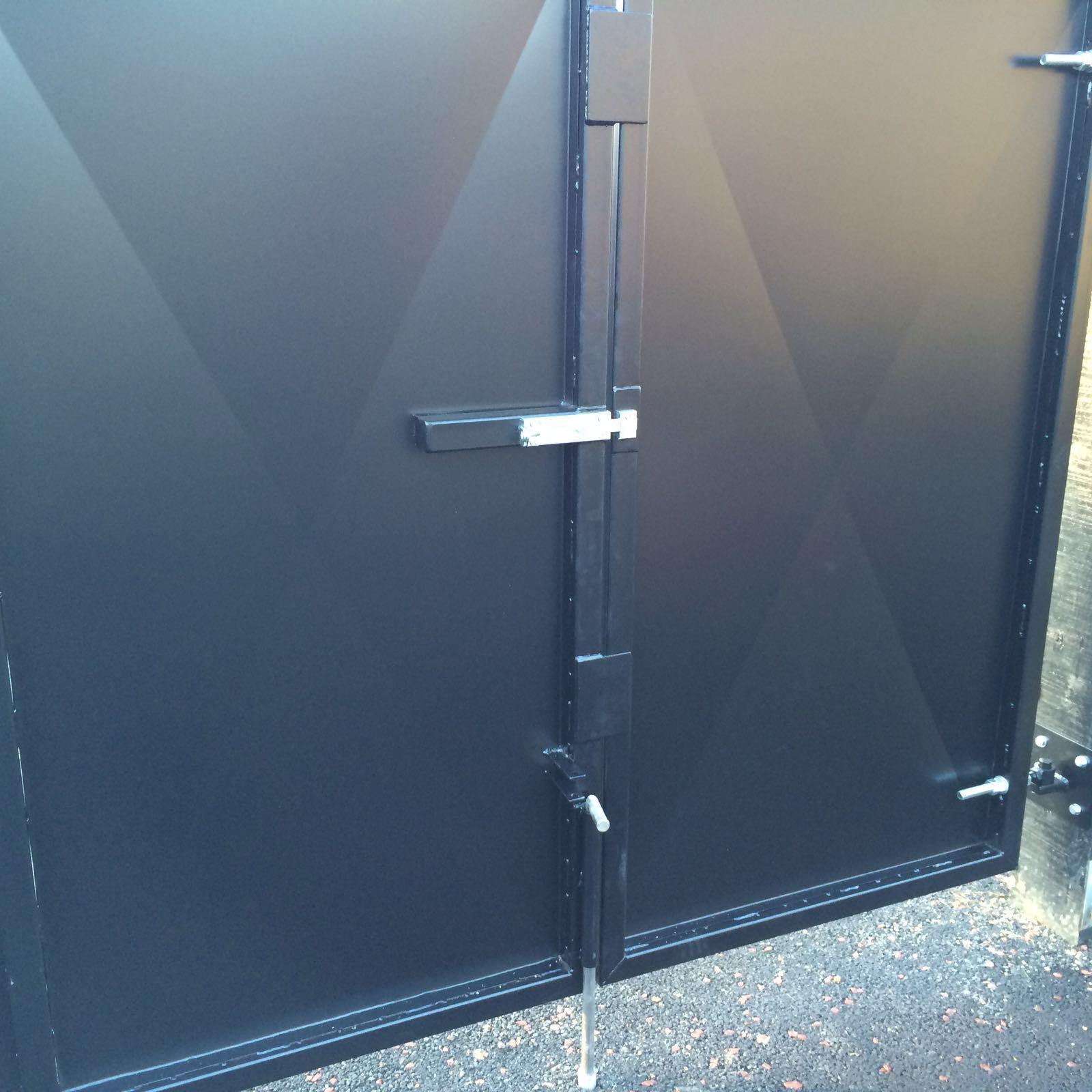 Mild steel painted gates