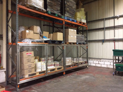Stainless Warehouse Racking and Cage