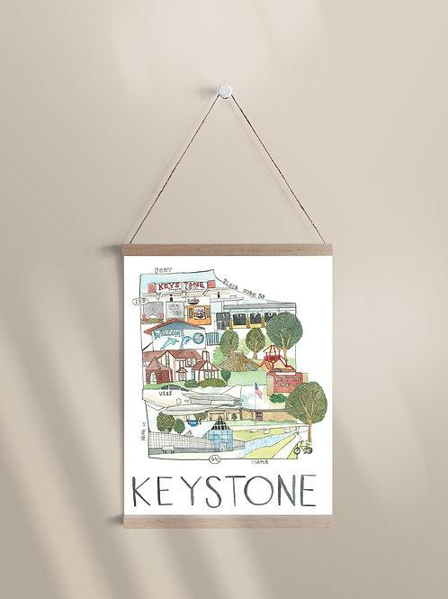 """Long Trail Ahead"" - Keystone, Omaha"