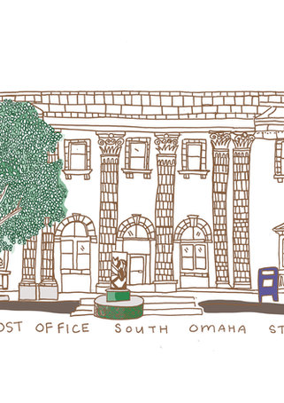 SOUTH OMAHA POST OFFICE