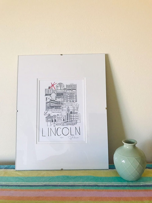 Lincoln- Limited Edition Print