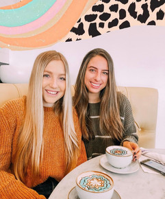 coffee date with brooke and eva!