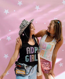 Bella and Noa at the photobooth