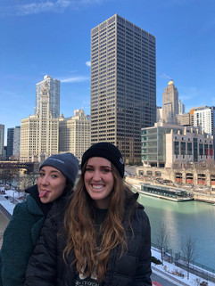 taylor and jacky cheesin' in chicago