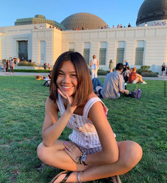 adorable sophia at Griffith Observatory