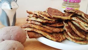 Pancakes Pommes de Terre & Vanille