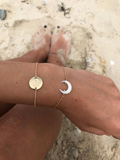 Bracelet médaille KARMA