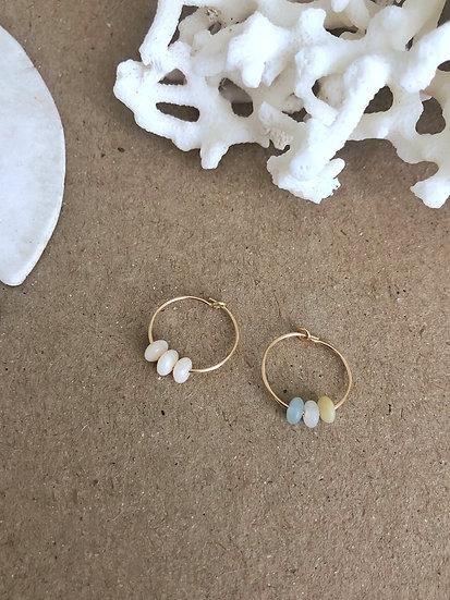 Boucles d'oreilles ÉDEN