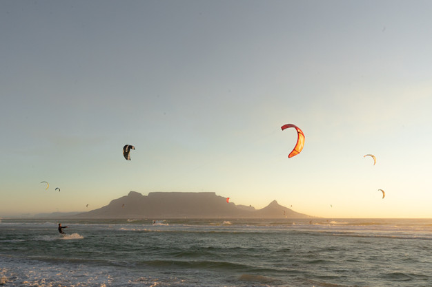 Afrique du Sud voyage sur mesure Le Cap kitesurf