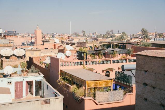 Marrakech voyage sur mesure souk hotel luxe medina Maroc