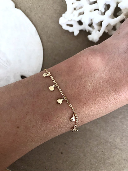 Bracelet pampilles MIA