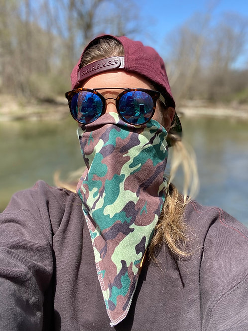 HanHab Camo Face Protection