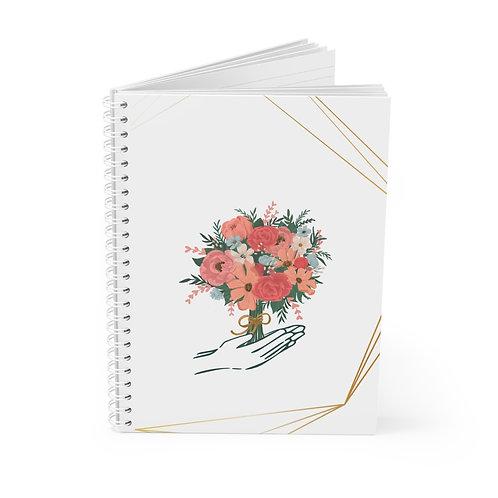 Open Hearts Spiral Notebook