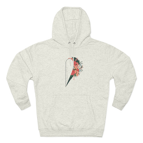Opened Heart Pullover Hoodie