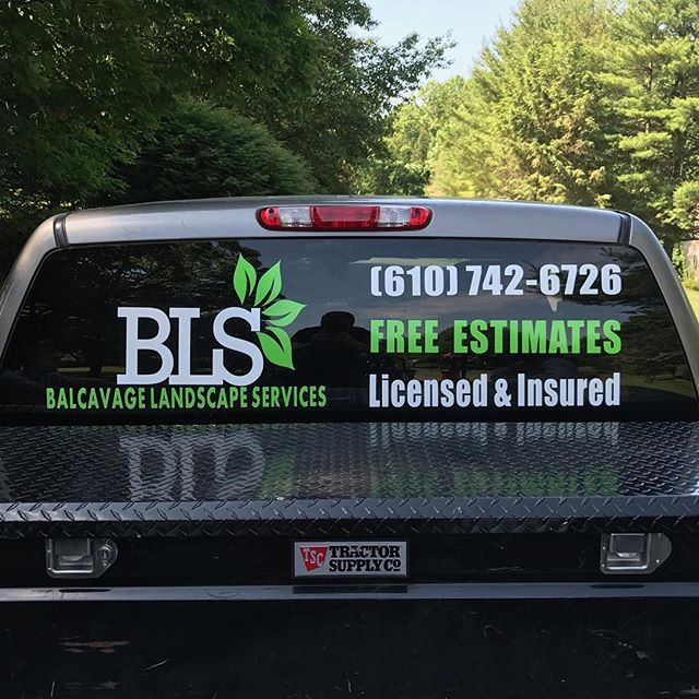 We could not be more pleased with the way this custom vehicle decal turned out for our friends _balc