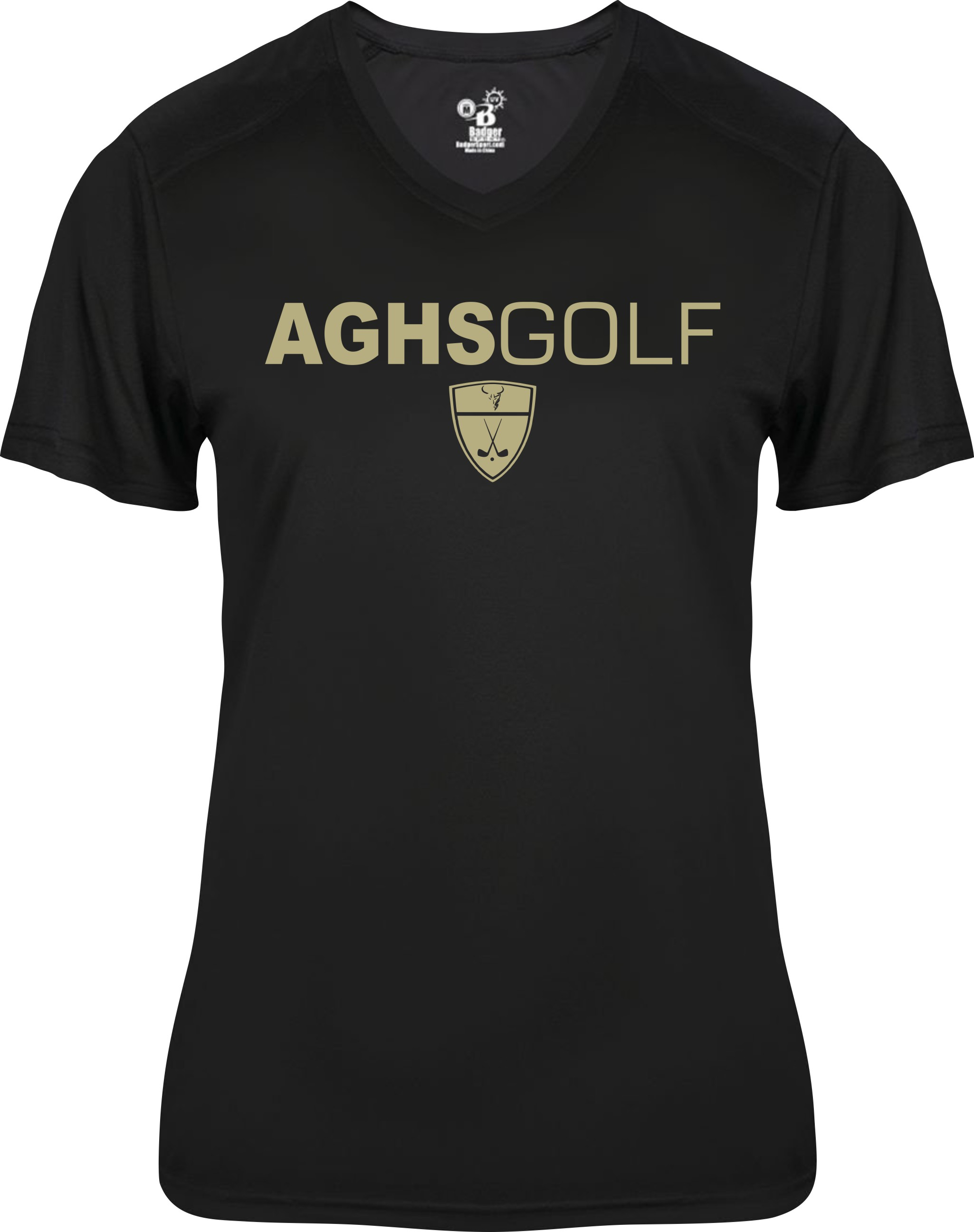 AGHS Golf Team Badger 4062_Black