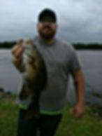 James Dopson got the heaviest bass betwe