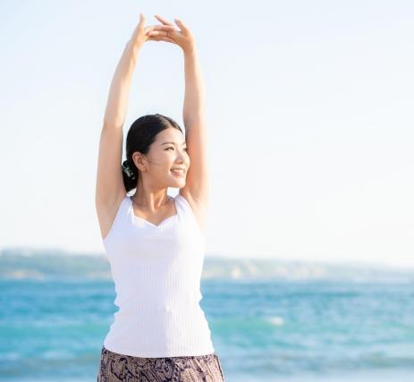 水素は体中の隅々にまで広がり、 効率的に活性酸素を無害化します