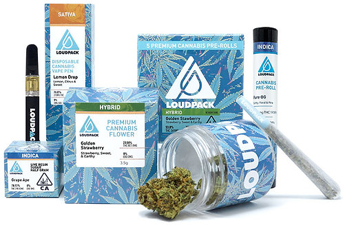 Loudpack Premium Flower Gruntz (33.80% THC) 3.5g